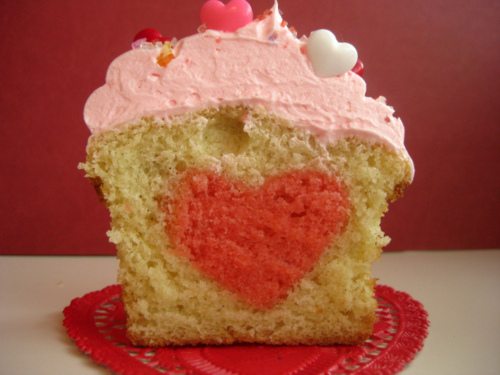 cupcakes heart