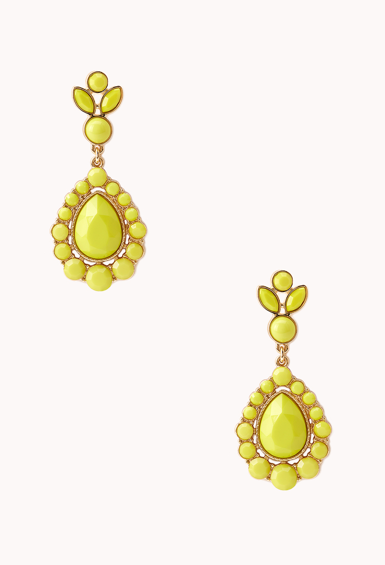 yellow earring1